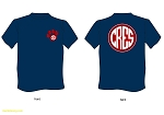 2018 Spirit wear - Navy double-sided Cotton t-shirt