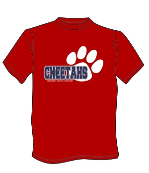 2018 Spirit wear - Red Cotton t-shirt